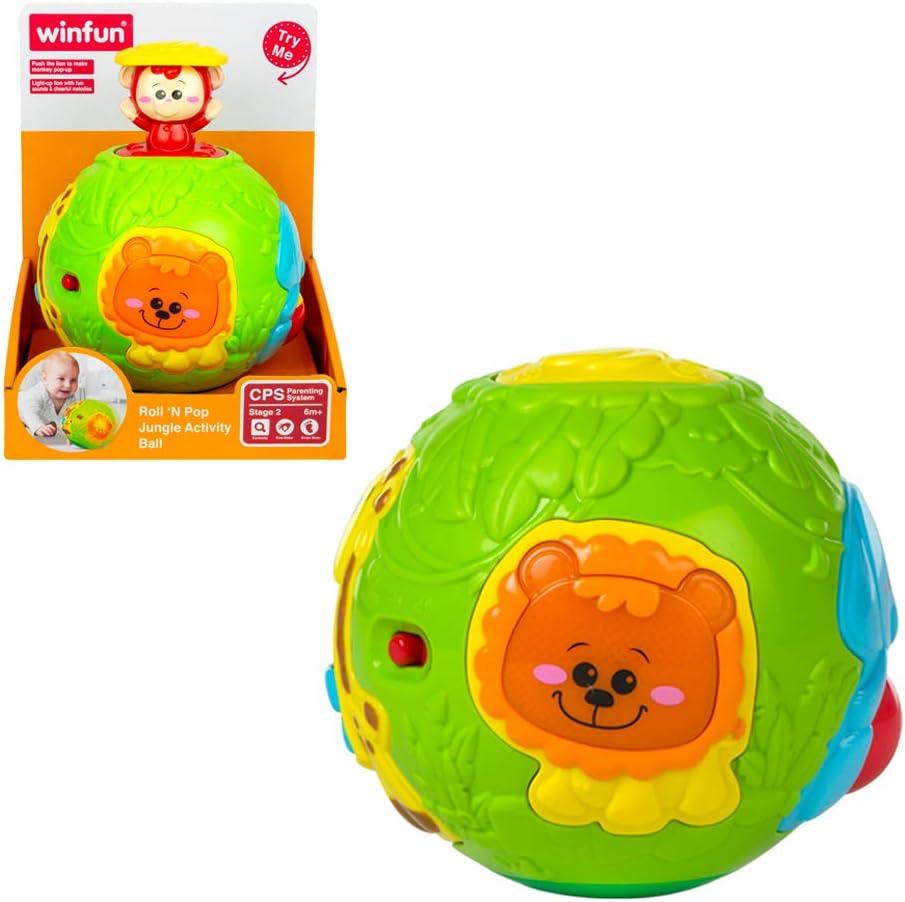 winfun - Bola de animales infantil con luz y sonido (44527 ...