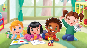 Join Chris, Daniel, Grace and Pilar in their classroom.