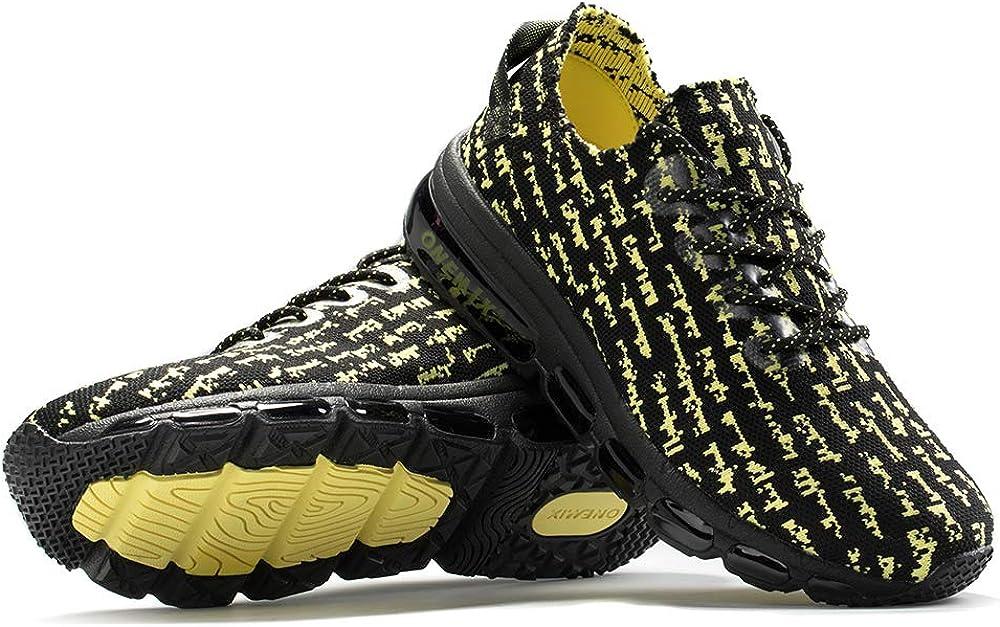 ONEMIX Chaussure de Course Running Homme Basket Sports Mode Respirante Outdoor Running Gym Fitness Sneakers