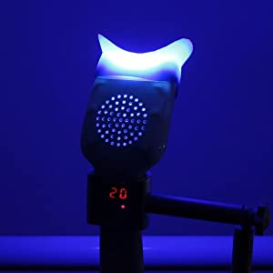 Dental Handheld LED Teeth Whitening Light Accelerator Bleaching Lamp 6000mw/c?