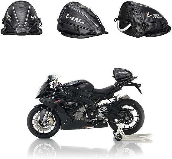 Wosawe Motorrad Hecktasche Wasserdicht Multifunktional Reiten Gepäcktasche Leichtes Motorrad Rücksitztasche Zubehörtasche Auto