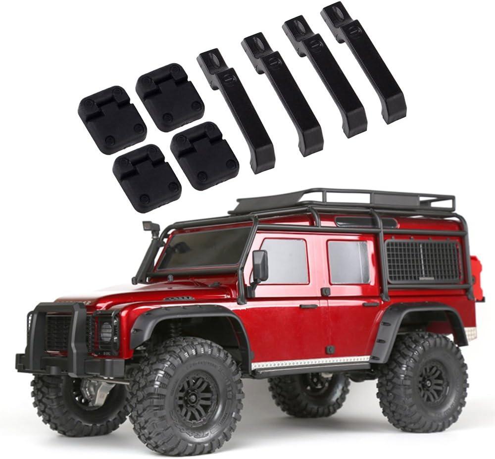 Rc Auto Metall Seite Pedalplatte Für 1//10 Scale Rc Crawler Auto D90 Scx10