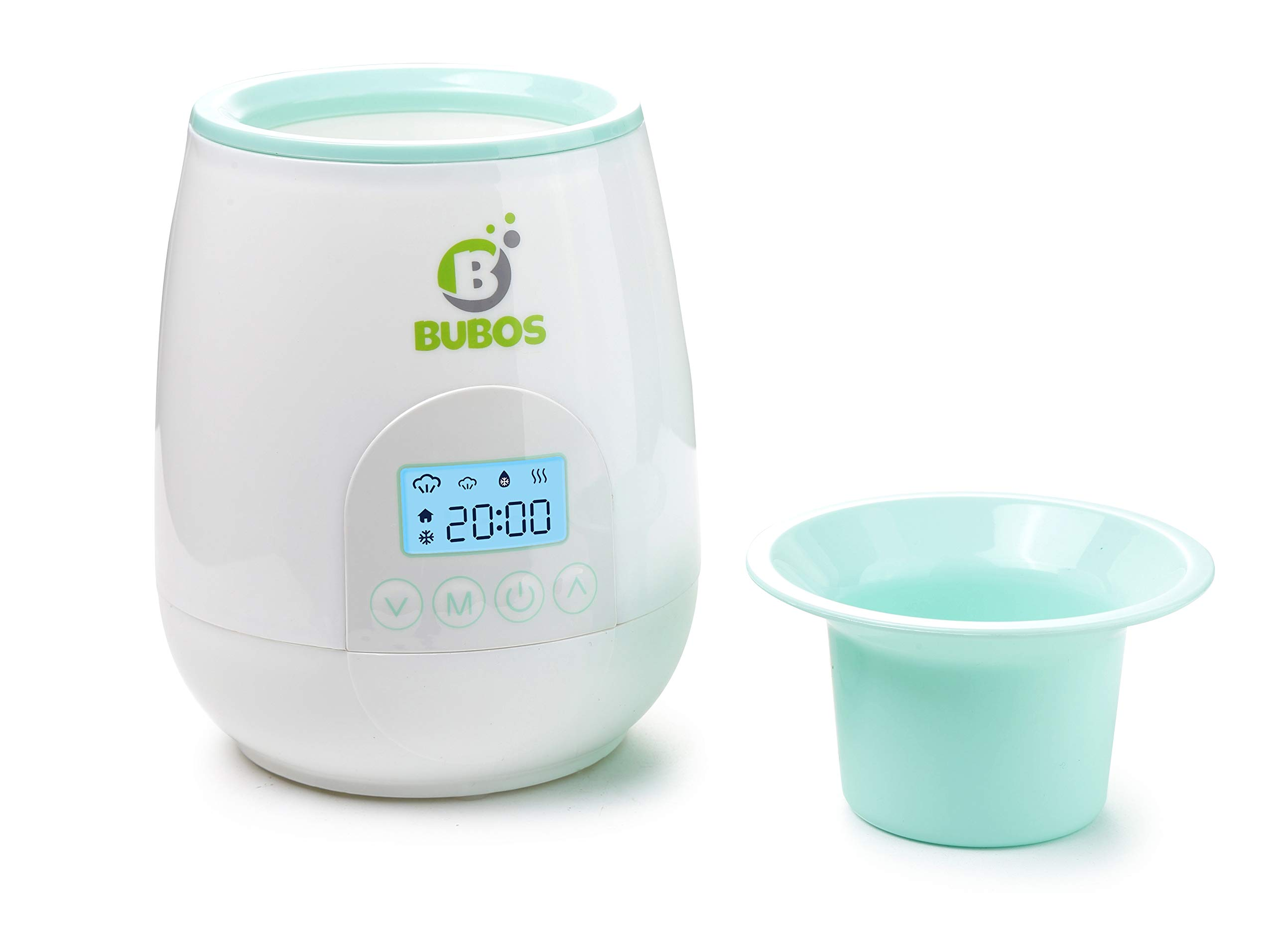 Bubos Smart Baby Bottle Warmer with Backlit LCD Real Time Display by B Bubos