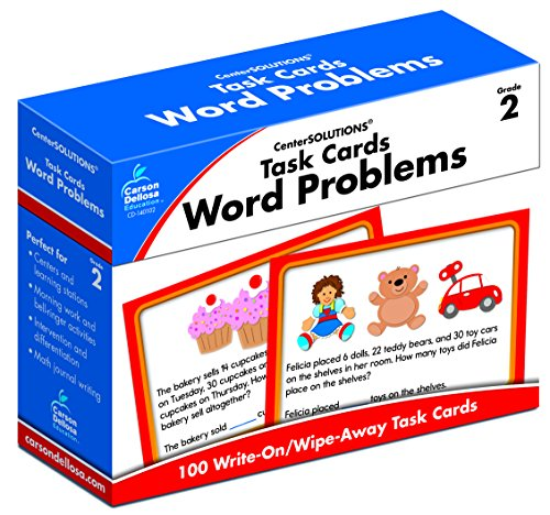 Task Cards - Word Problems, Grade 2 (Addition And Subtraction Word Problems Grade 4)