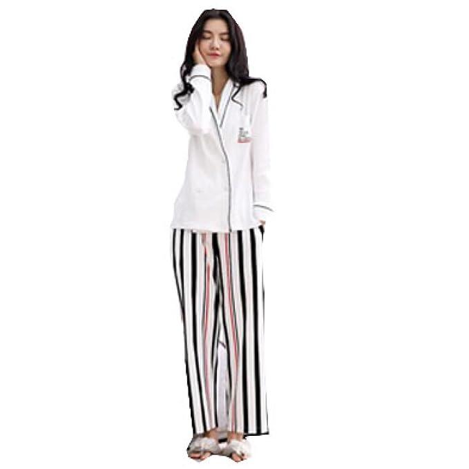 Bata Pijama De Damas Albornoz Bata Pijamas Suaves Pijamas De Manga Larga De Algodón Servicio De Hombres Y Mujeres Pijamas De Verano: Amazon.es: Ropa y ...