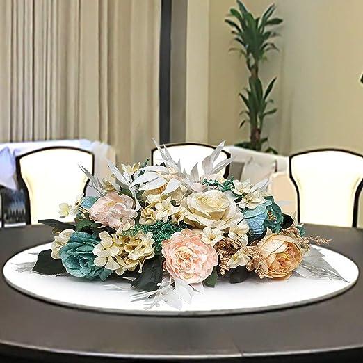 Flores Artificiales Decorativas, Flores De Seda De Decoración De ...