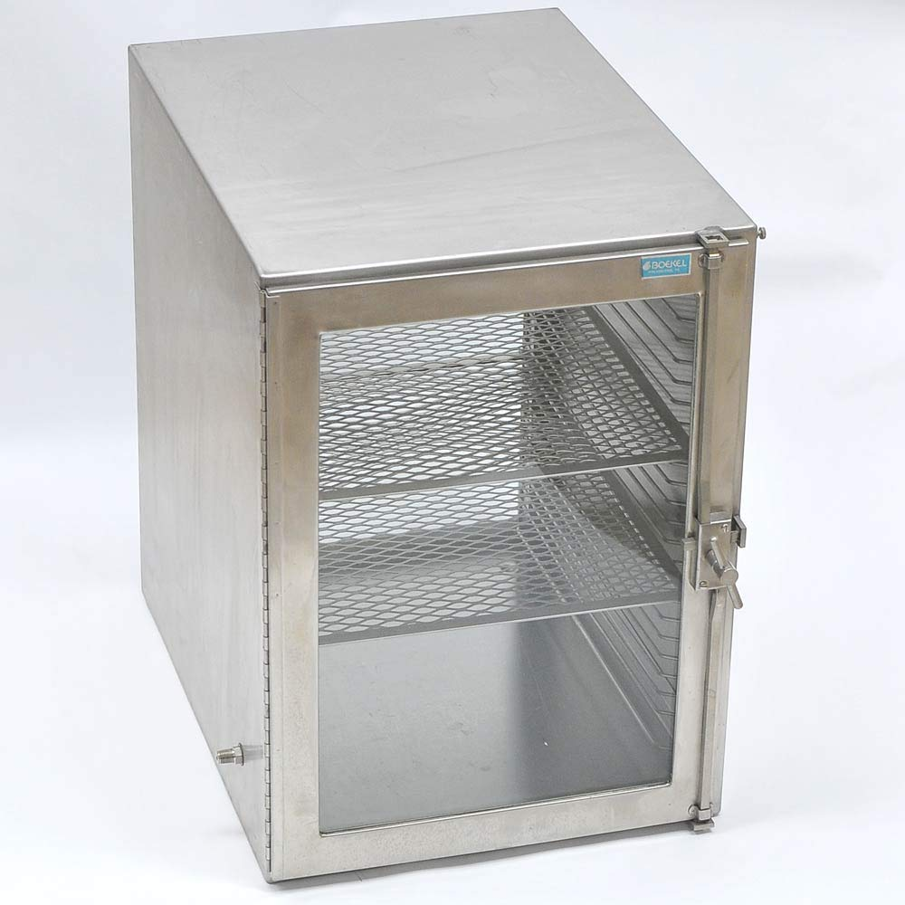Boekel 1344 Large Desiccator with Stainless Steel Board Shelves, 41.9cm W x 58.4cm L x 57.2cm H