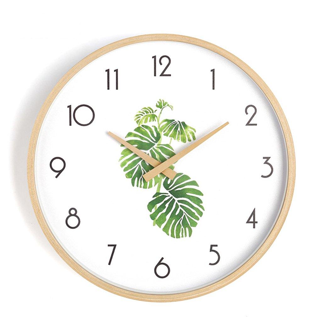 静かなベッドルームの壁時計、リビングルームコーヒーショップレストランの理髪店ホテルの研究教室書店の壁時計木製の壁時計25.6-40.8CM (色 : C, サイズ さいず : 40.8*40.8CM) B07DHN73VX 40.8*40.8CM C C 40.8*40.8CM