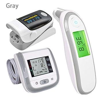 Beatie Probador de múltiples Funciones,Oxímetro,Medidor de Pulso de Dedo, Termometro de Bebe,Termómetro electrónico y oxímetro de Pulso con Dedo y ...