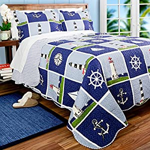 61H-mbBTdnL._SS300_ Coastal Bedding Sets & Beach Bedding Sets