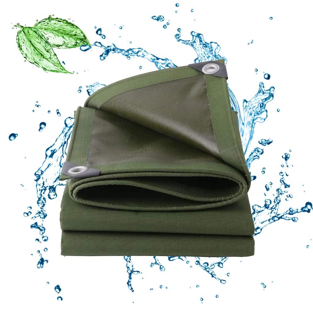 防水防水、防水シート防水グロメット付き防水ポリ防水カバー防水キャンバス引き裂き抵抗性のある厚さ29.5ミル  15x30ft/5x10m