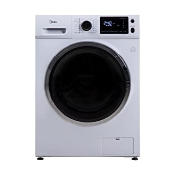 Midea WT 786 I Waschtrockner A 544 KWh Jahr 1600 UpM 8 Kg 12800 L Inverter Motor Reload Funktion Weiss Amazonde Elektro Grossgerate