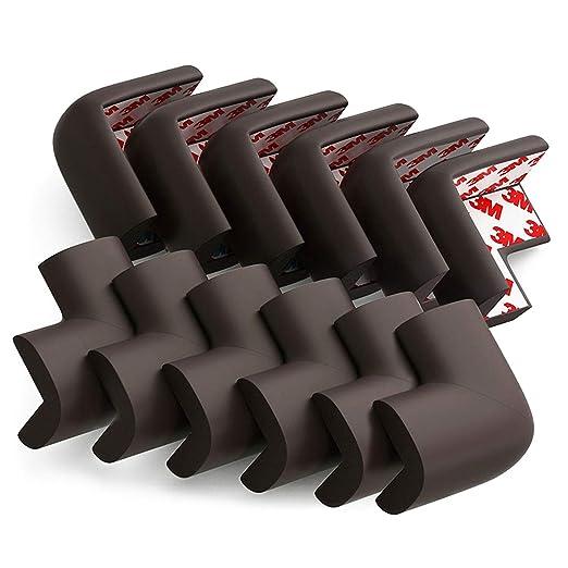 4x Soft Clear Table Corner Edge Protector Cushion Bumper Baby Safety Ball Shape