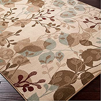 Leaf Pattern Area Rugs Home Decor