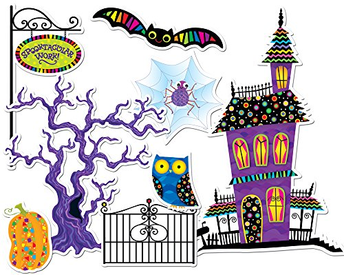 Creative Teaching Press Poppin' Patterns Spooktacular Bulletin Board Set -
