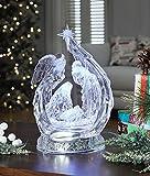 Angel Curled Nativity