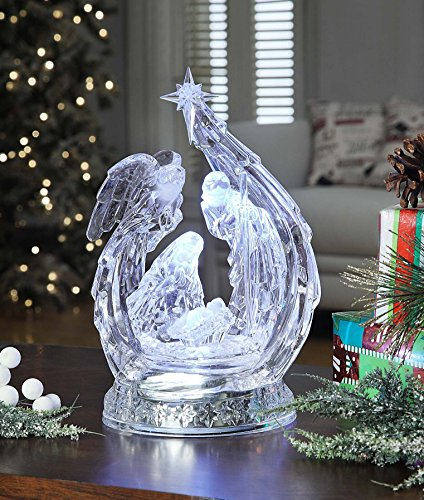 Angel Curled Nativity by Icy Craft