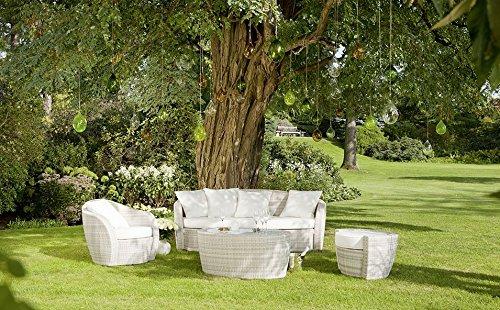 Elegant Gartenmöbel Rattan Weiß Günstig
