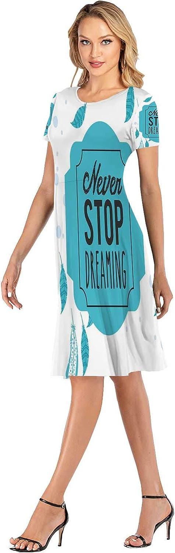 C COABALLA Nevada Desert Dress Elegant Ladies Midi Dress for Party,161672,S