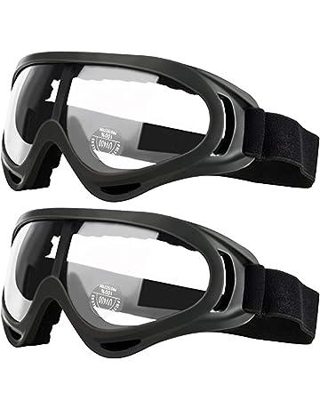 dc084f580f Pack de 2 gafas de seguridad para niños con protección anti niebla y  protección ultravioleta perfecta