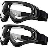 Pack de 2 gafas de seguridad para niños con protección anti niebla y protección ultravioleta perfecta para pistola de…