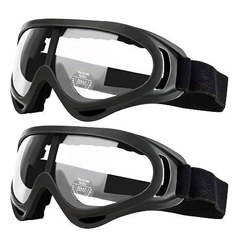 Pack de 2 gafas de seguridad para niños con protección anti niebla ...