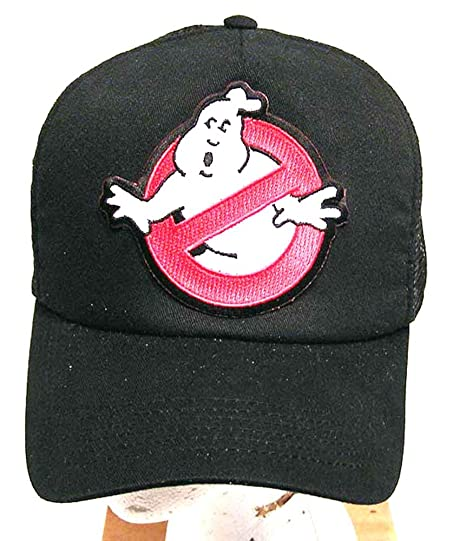 Amazon.com  GHOSTBUSTERS No Ghost Logo Baseball Cap Hat  Sports ... e8907ebe61b9