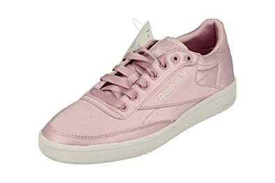 Reebok Classic Club C 85 Satin Damen Trainers Sneakers