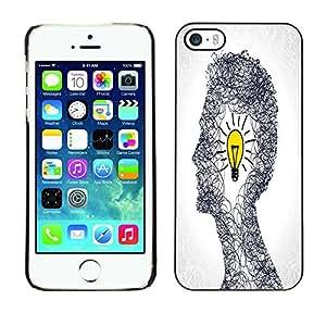 Jordan Colourful Shop - FOR iPhone 5 / 5S - Bad times make good man - Personalizado negro cubierta de la caja de pl??stico