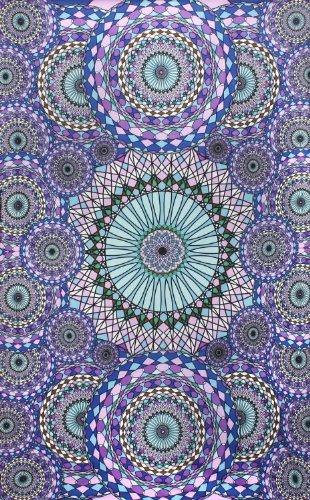 "Sunshine Joy 3D Ring Of Water Tapestry Hanging Wall Art Beach Sheet - 60X90"""