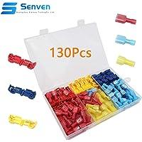 Senven® 130Pcs T-Tap Terminal Cable, T-Tap Empalme Rápido