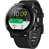 Amazfit Stratos Multisport Smartwatch by Huami with VO2max,Heart Rate,Activity Tracking, GPS, 5 ATM WaterResistance (A1619, Black) (43308-976)