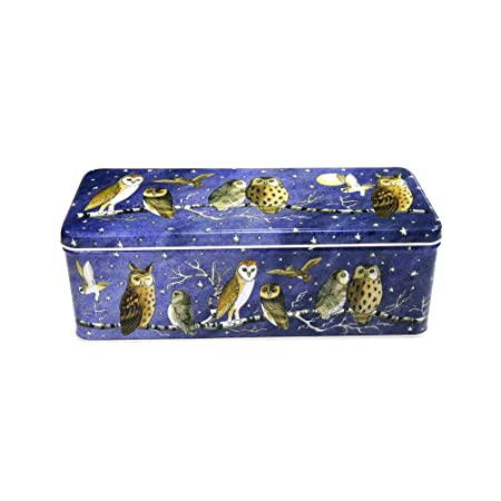 Emma Bridgewater Owl Design Cracker Tin / Storage  sc 1 st  Amazon UK : owl storage trunk  - Aquiesqueretaro.Com