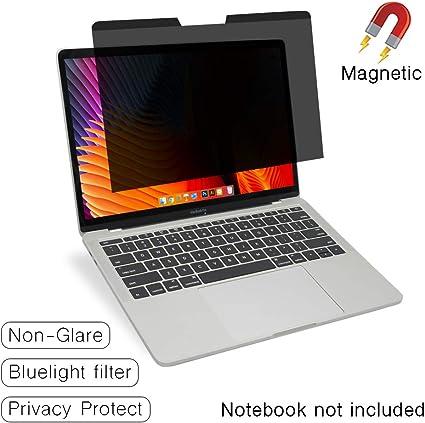 Anti-Blue Licht Senseage Magnetischer Blickschutzfilter Displayschutzfolie f/ür Apple MacBook Pro 33 cm Touch Bar//Anti-Touch-Bar 13 Zoll Mitte 2016 Retina Display f/ür Laptop