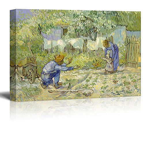 First Steps (after Millet) by Vincent Van Gogh Oil Painting Reproduction