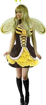 Yummy Bee Disfraz Abeja Reina Seductor Fiesta de Disfraces + ...