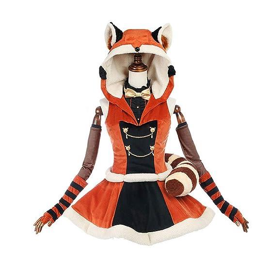 Coeffort Animal Vestido con Capucha Traje de Anime Cosplay ...