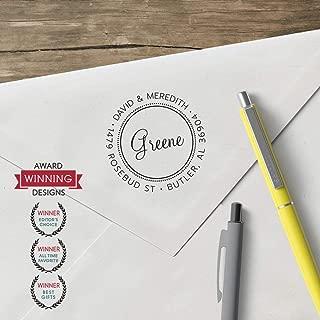 product image for World'S Favorite Custom Address Stamp – Three Designing Women, The Greene Design(CS3607 Design Clip Only)