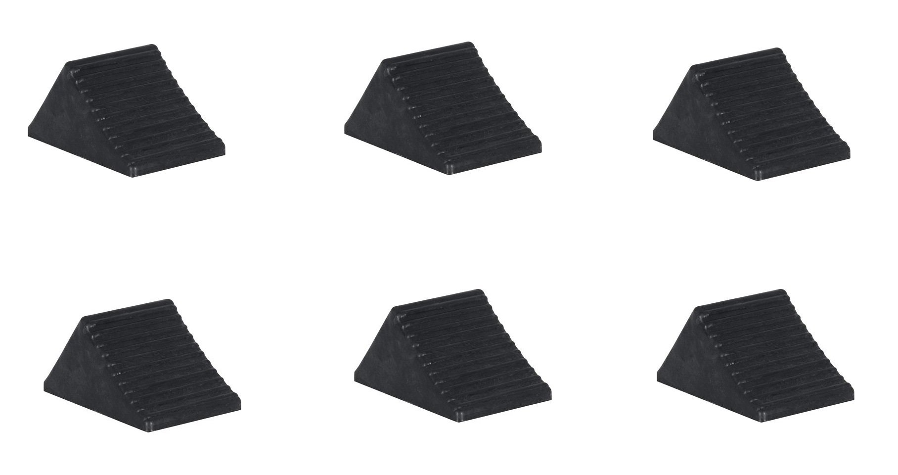 Buyers Products WC1467A Wheel Chock, Rubber (6) by Buyers (Image #1)