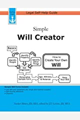 Simple Will Creator: Legal Self-Help Guide Paperback