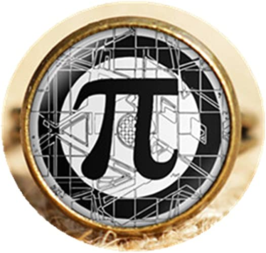 Pi Symbol Ring Math Students and Graduation Gift Phi Symbol Jewelry Pi Day Gift Idea for Teacher