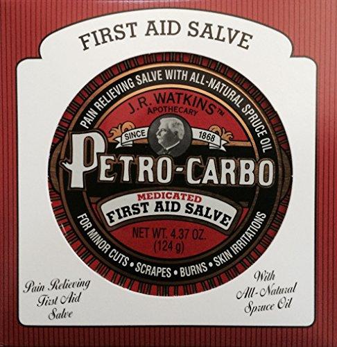 J.R. Watkins Petro Carbo First Aid Salve 4.38 oz
