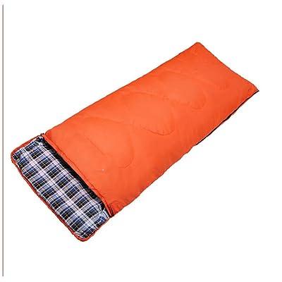 Camping Sac De Couchage Voyager Randonnée Pédestre Et Autres Activités De Plein Air Respirant Chaud Agréable Pour La Peau,Orange