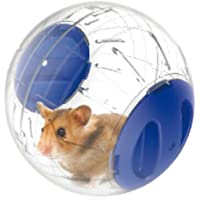 Emours Dwarf Hamster Mini Run-About 4.8 inch Small Animal Exercise Ball (Blue)