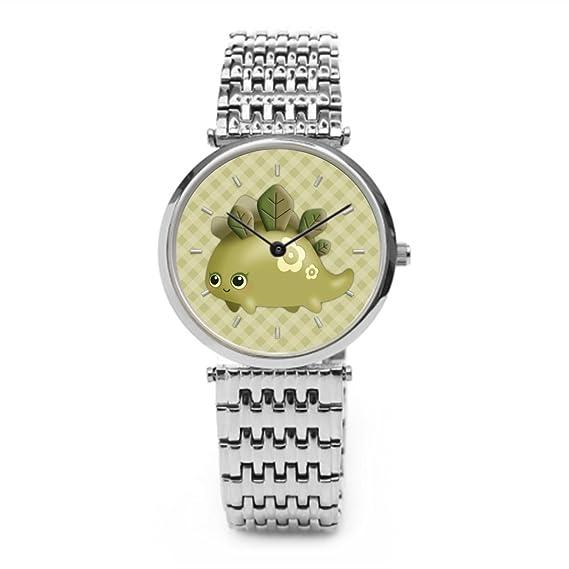 z0e Cute Baby Dino con hojas kawaii criatura muñeca relojes: Amazon.es: Relojes