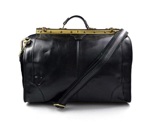 Bolso de cuero bolso de viaje doctor bag bolso doctor en