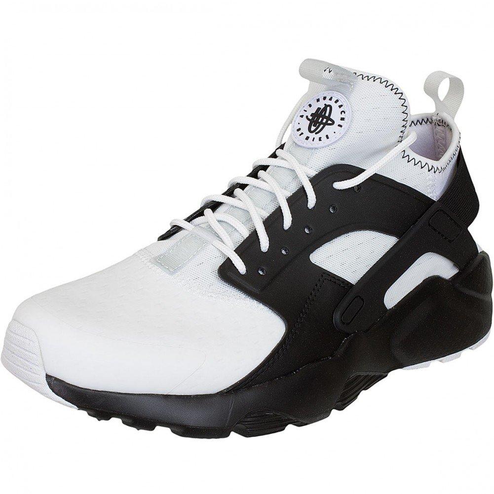 Nike Herren Air Huarache Run Ultra SE Leder Sneaker  45 EU|White-black