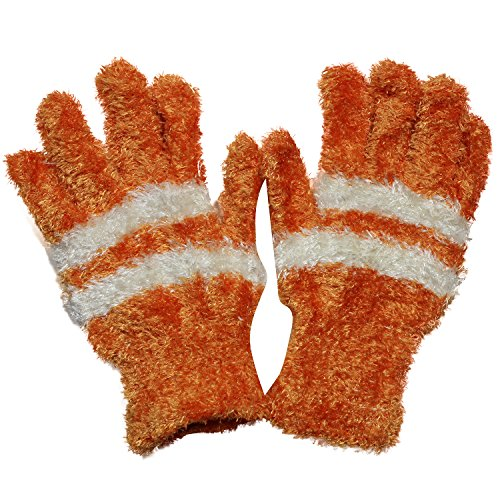 Kids Fuzzy Gloves Pack Colorful