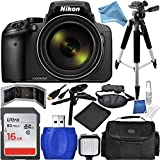 Nikon COOLPIX P900 Digital Camera DigitalAndMore Free Deluxe Accessory Kit Bundle (13 Items)