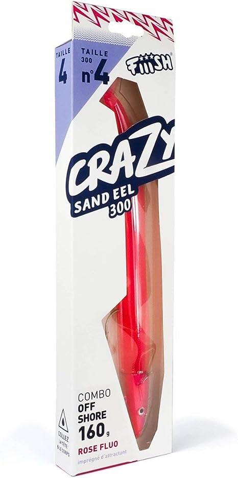Fiiish Lures - Crazy Sand Eel 300 Combo Nº4 - Señuelo Blando de ...